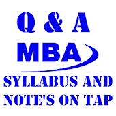 MBA Notes and Syllabus