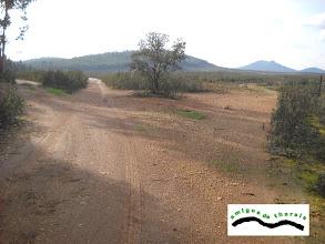 Photo: Seguimos de frente. El camino de la izquierda nos lleva a la Cañada Santa Bárbara.