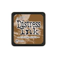 Tim Holtz Distress Mini Ink Pad - Vintage Photo