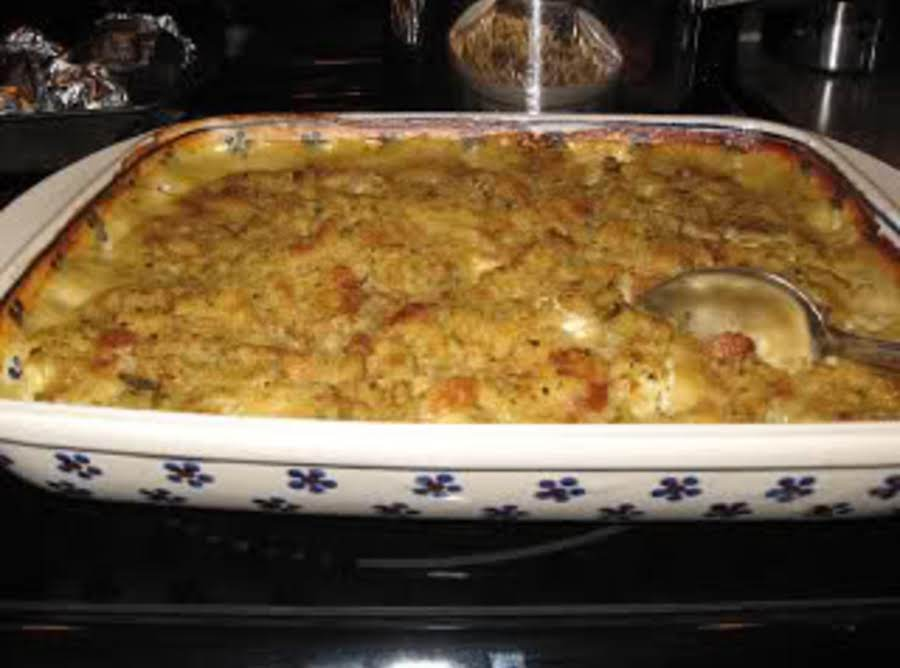 Chicken Stuffing Casserole Recipe Just A Pinch Recipes