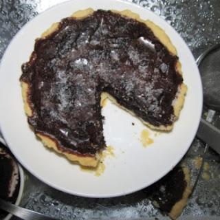 Dark Chocolate Fudge Pie