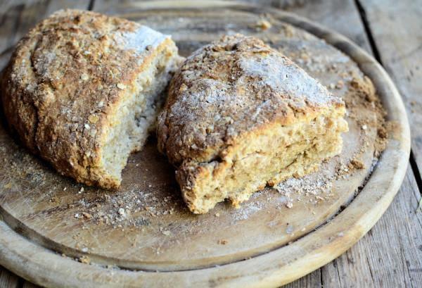Irish Oatmeal Bread Recipe