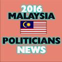 2016 MALAYSIA POLITICIANS NEWS icon