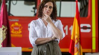 La presidenta de la Comunidad, Isabel Díaz Ayuso.