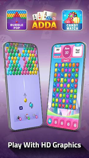 Adda : Rummy , Callbreak ,Solitaire & 29 Card Game modavailable screenshots 9