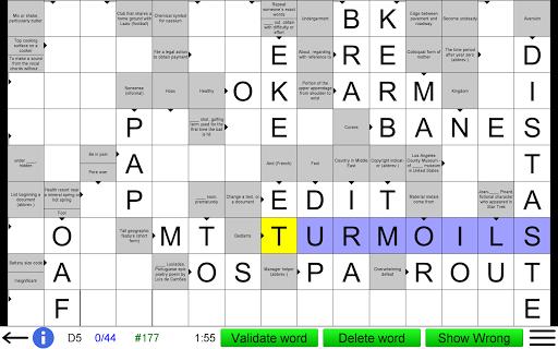 Arrow Crossword screenshots 9