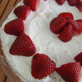 Strawberry Genoise Cake