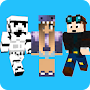 Skins - for Minecraft PE and PC APK icon