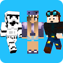 Skins - for Minecraft PE & PC icon