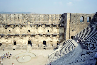 Photo: 003-Aspendos, le site antique