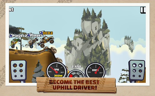 Hill Climb Racing 2 - game offline hay trên Android