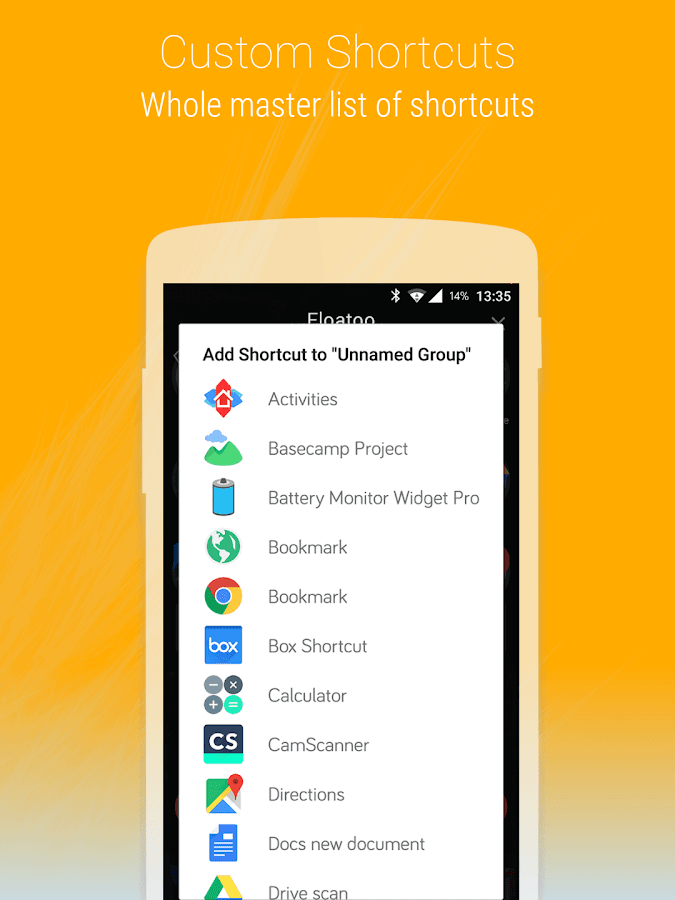 how to create folders on google now launcher