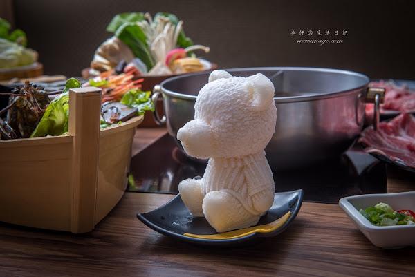 上官木桶鍋有熊出沒!!!熊の牛奶浴鍋底超可愛~痛風鍋不稀奇~蝦蝦霸霸鍋更厲害|上官木桶鍋『台北中正店』|中正區美食推薦