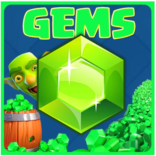 Gems clash royale Simulated