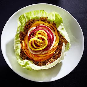Ultimate Spiral Veggie Bowl