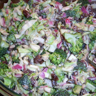 Broccoli-Cabbage Slaw