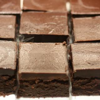 Chocolate Ganache Brownies.