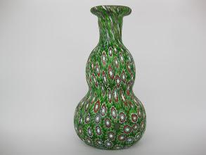 Photo: Millefiori cabinet vase.