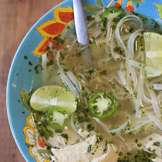 Pho-Inspired Slow Cooker Chicken Noodle Soup