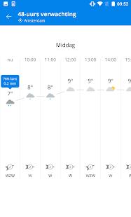 Weeronline: weer en regenradar - náhled