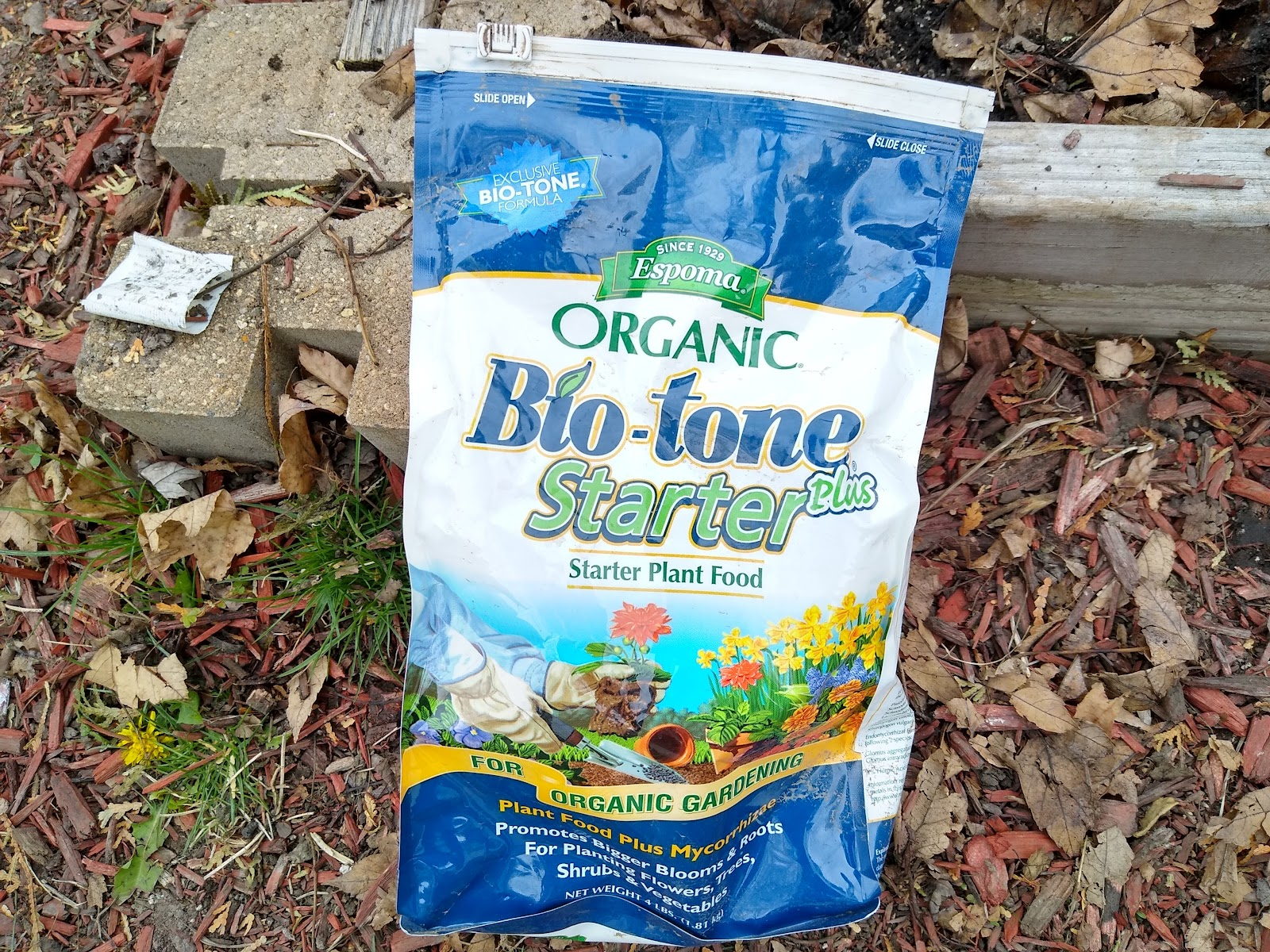 Bio-tone starter fertilizer picture