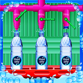 Mineral Water Factory Games: Adventure Simulator