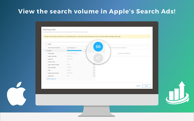 Search Ads Volume Tool for ASO
