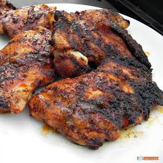 Grilled Cajun Chicken.