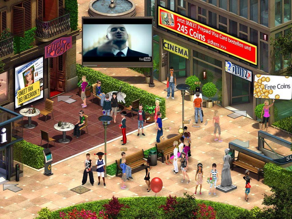 smeet_10 : Games like second life