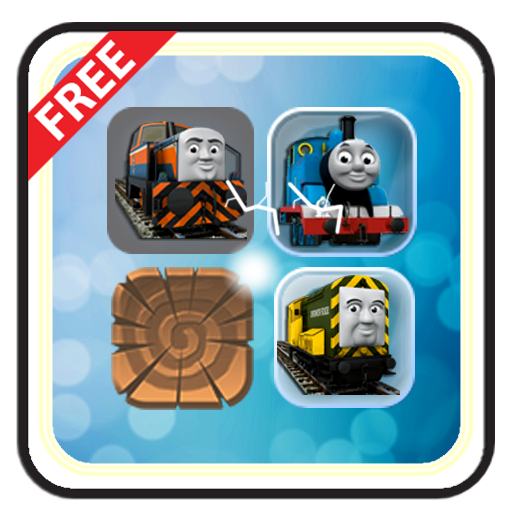 Trains & Friends Match 3 Game (game)