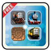 Trains & Friends Match 3 Game