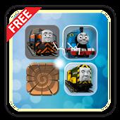 Trains & Friends Match 3 Game