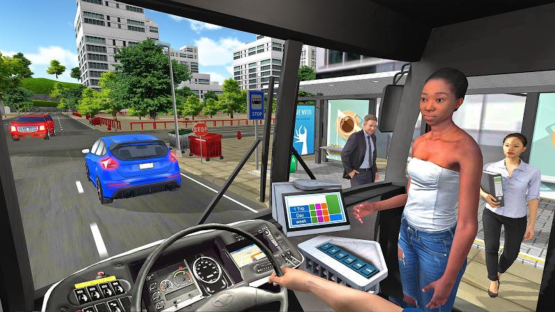 Bus Simulator 2018: City Driving Screenshot 4