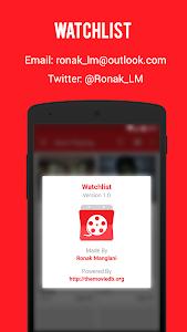 Watchlist - Track Movies screenshot 7