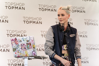 Photo: Some of the cute DJs at the Topshop opening in LA. Shop LA Style > http://bit.ly/XbGtM6