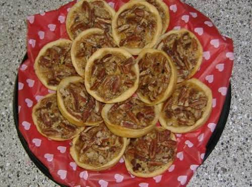 "Tiny Pecan Pies ""I make these all the time in mini muffins..."