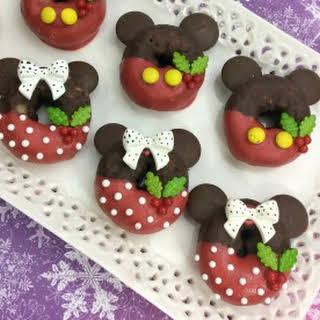 Mickey and Minnie Doughnuts.