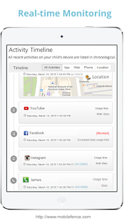 App Mobile Fence Parental Control APK for Windows Phone