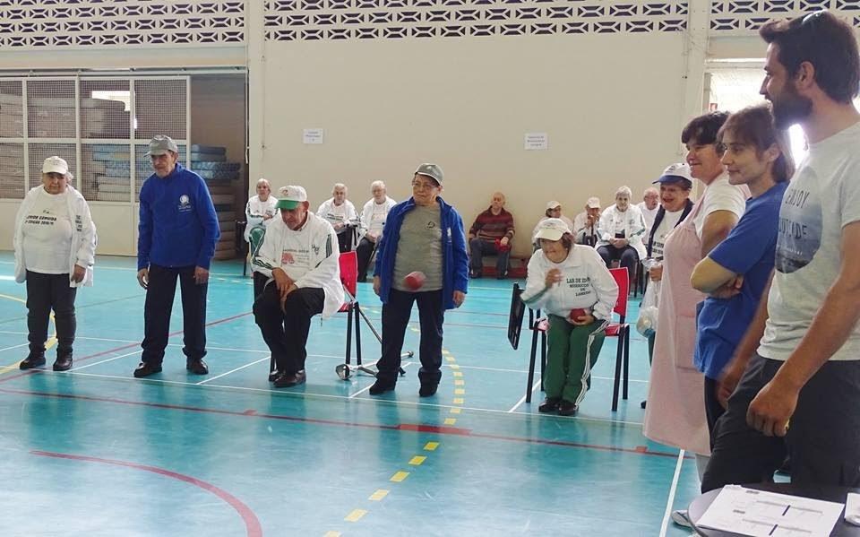 Misericórdia de Lamego organizou Encontro de Boccia com 100 idosos