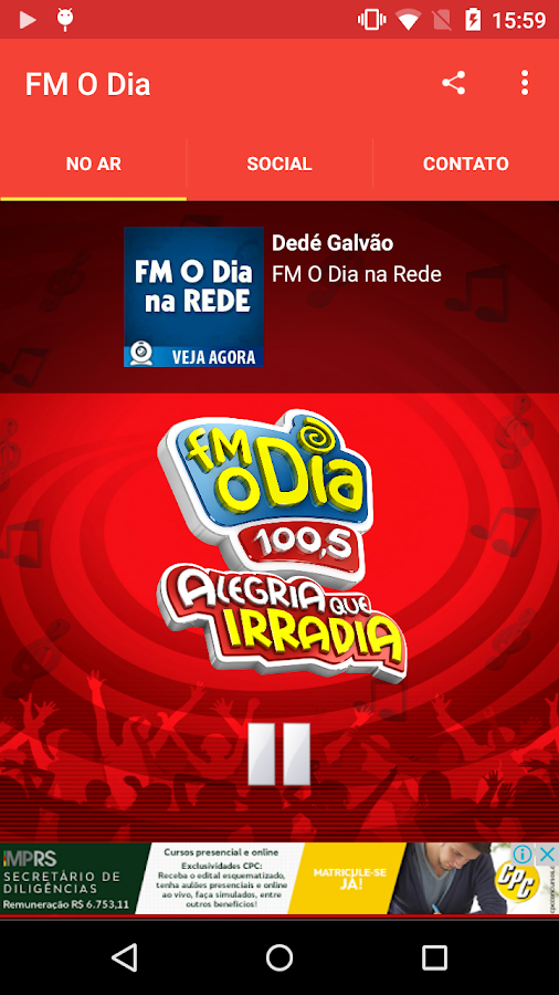 FM O Dia- screenshot