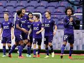 Anderlecht maakte op vier wedstrijden tijd een enorme evolutie