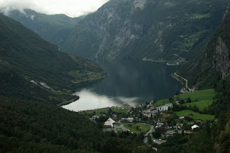 Photo: Geiranger from the other side