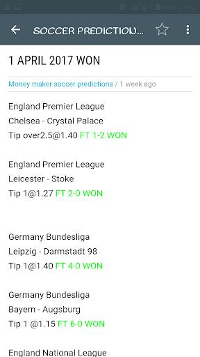 Money Maker Soccer Tips - Apps on Google Play