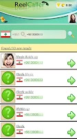 Screenshot of Reelcaller Plus- mobile number