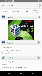 App VirtualBox Manager APK for Windows Phone