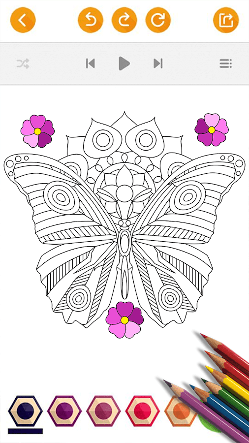 Nature Adults Coloring Pages - Android Apps on Google Play