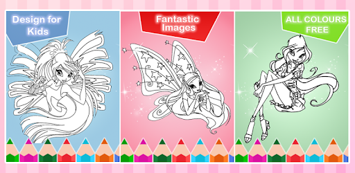 Coloring Book For Winx Party App Apk Free Download For