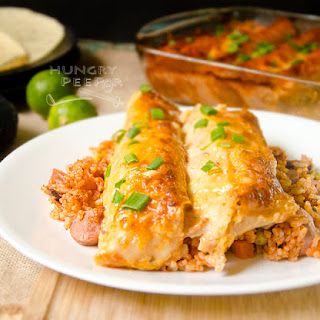 Yummy Baked Chicken Enchiladas To Pull Out One-By-One