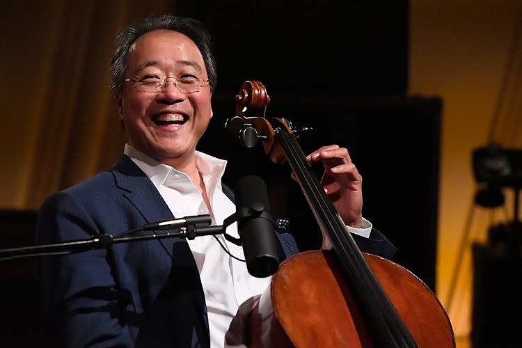 Yo-Yo Ma Performs On SiriusXM's Symphony Hall At The SiriusXM Washington D.C. Studios.