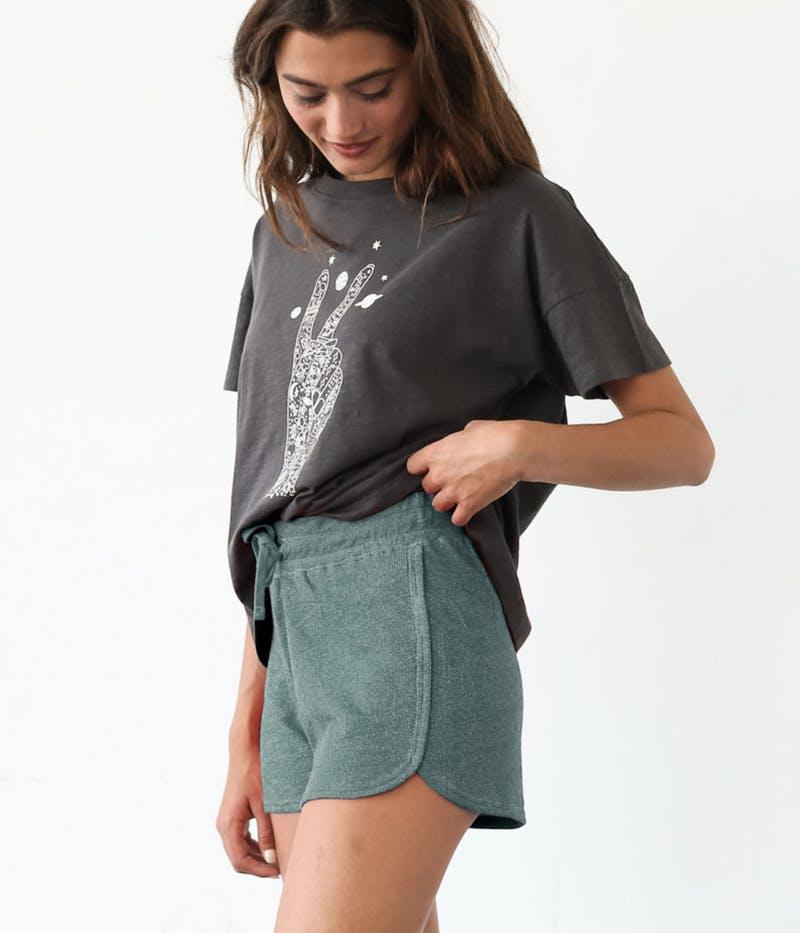 Krochet Kids intl green shorts